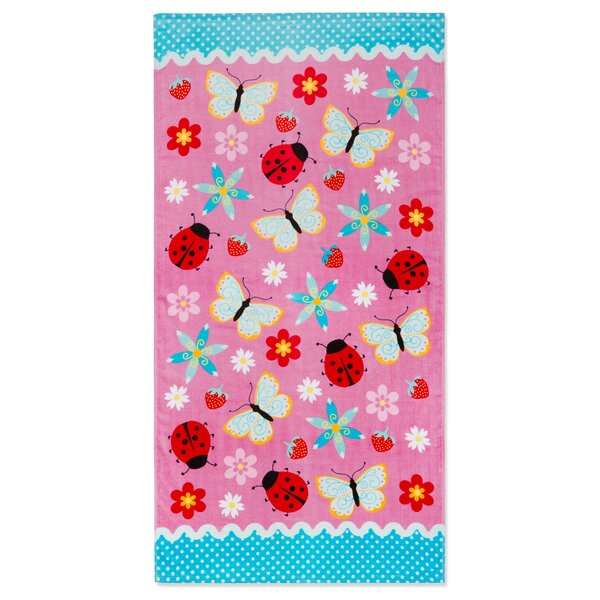 Alysa Summer Fun 100% Cotton Beach Towel by Harriet Bee